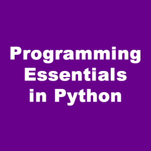 Programming Essentials in Python